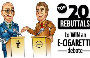 Top 20 Rebuttals to Win an E-Cigarette Debate
