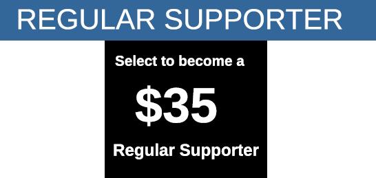regular supporter banner