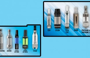 Difference Between Atomizers, Cartridges, and Cartomizers