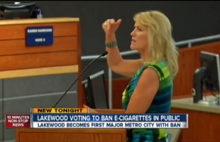 Lakewood Denver Bans E-Cig Smoking In Public Places
