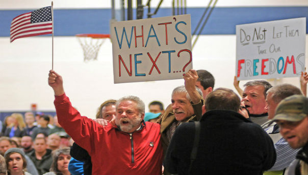 Rowdy Crowd Ends Mass. Town Hearing On Tobacco Ban