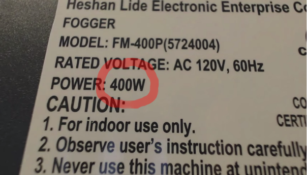 WTF Video Of The Week: 400 WATTS!