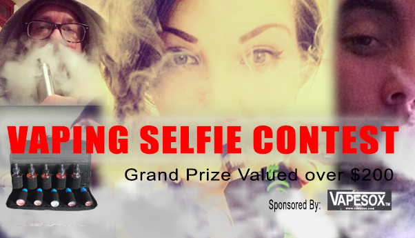 Show Us Your Best Vaping Selfie!!