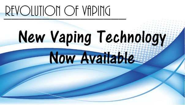 New Vaping Technology Now Available