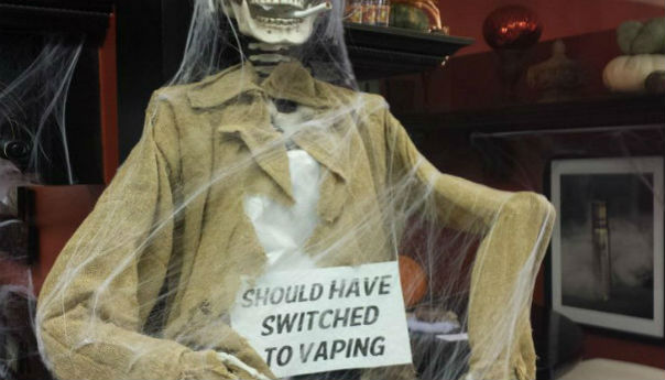 Get Your Vape In The Spooky Spirit
