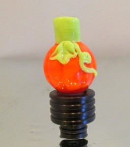 This Glass Pumpkin drip tip can be found on Etsy for $15.00