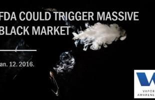FDA Could Trigger Massive Black Market